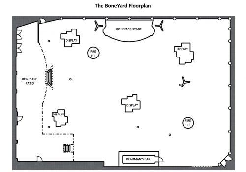Boneyard Floorplan Options